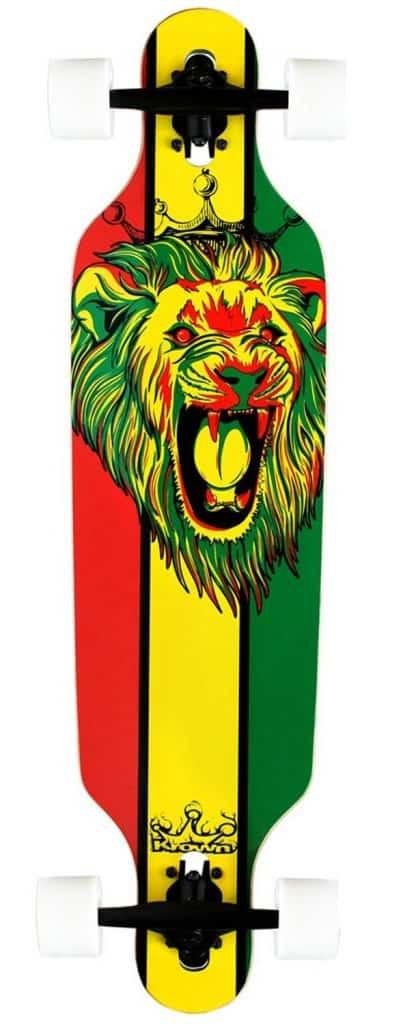 Image of Krown Rasta long board