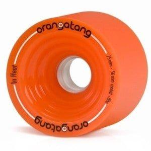 Orangutan in Heat Orange Wheels