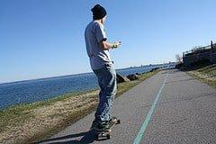 longboard-cruising