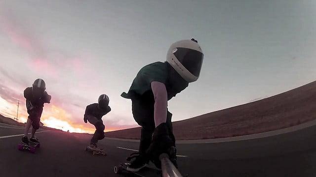 Longboard-Racing